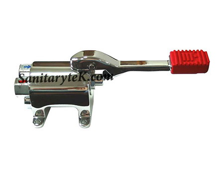 Foot Operated Floor Mounted Mixing Valve
