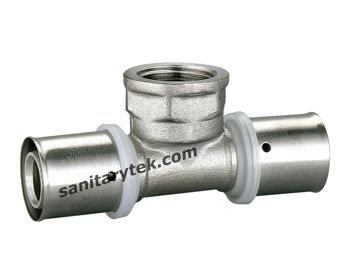 press fitting for multilayer pipe