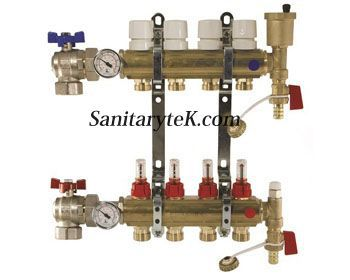 brass bar distribution manifolds
