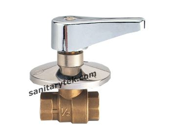 built-in ball valve